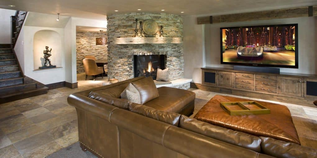 27 Dreamy And Swanky Basement Designs
