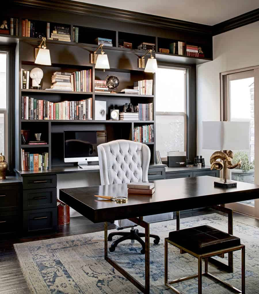 Home Office Design Decorating Ideas: 51 Functional Home Office Designs