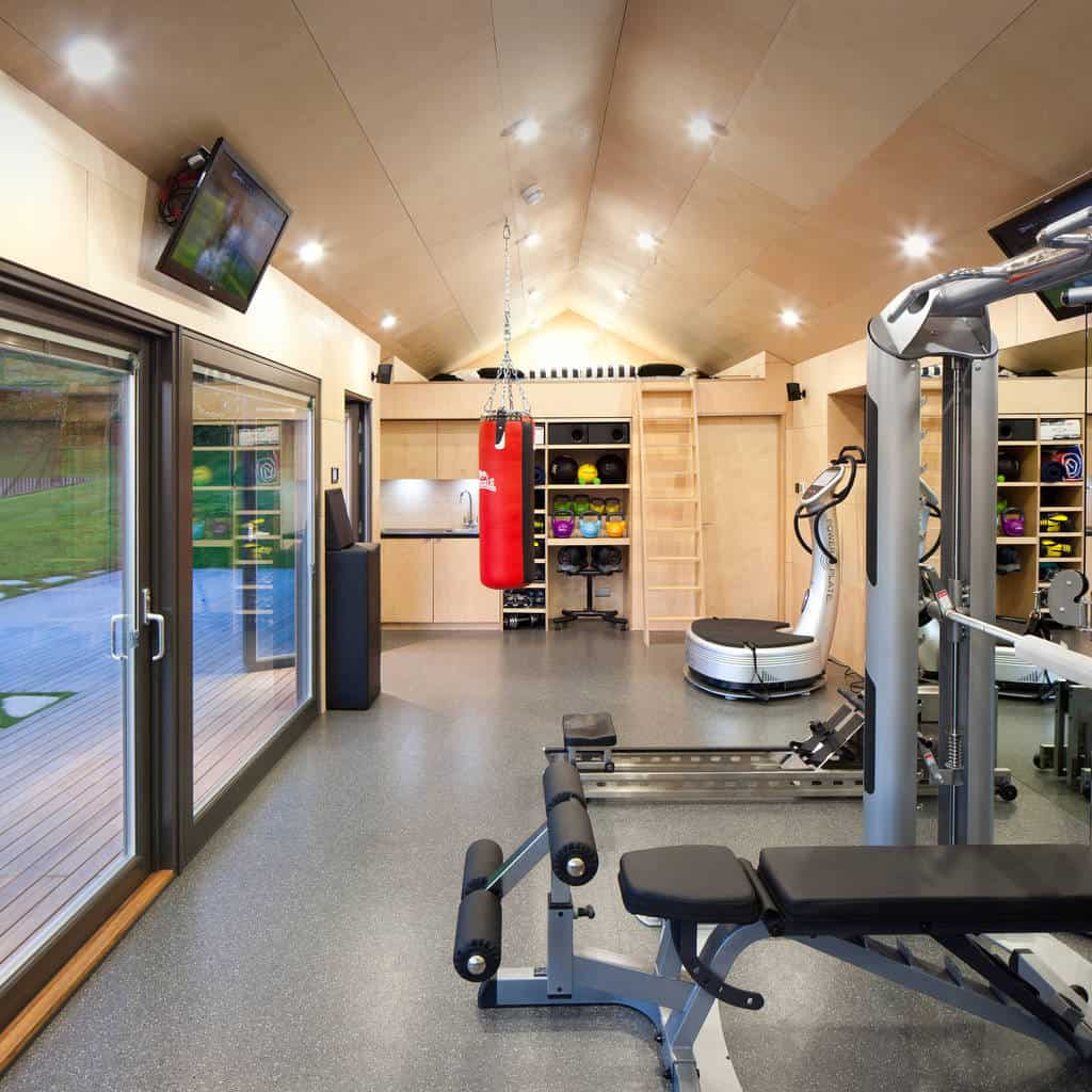 Home Gym Design Ideas: 35 Great Home Gym Designs