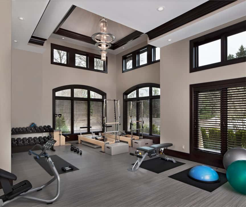 Home Gym Design Ideas: 20 Amazing Home Gym Design Ideas