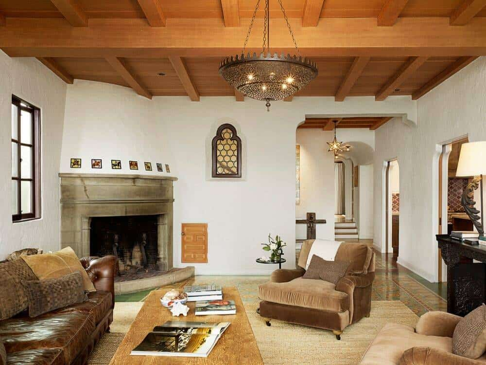22 Mediterranean Style Living Room Designs and Ideas