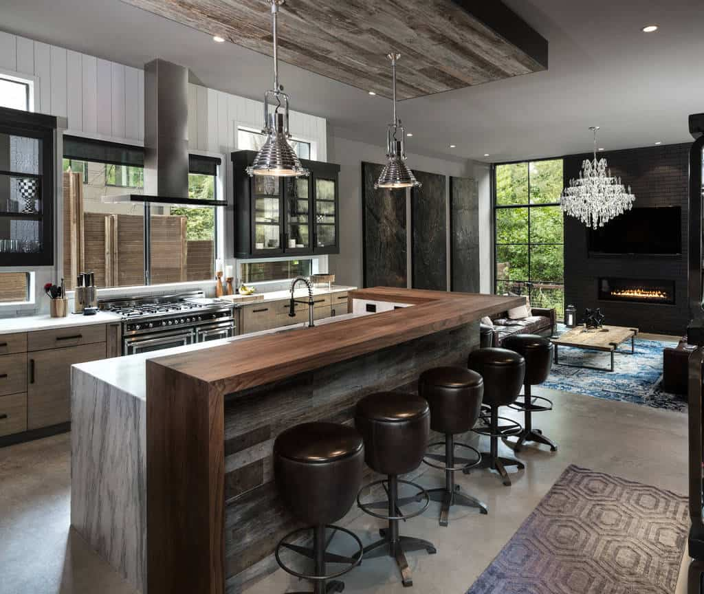 28 Industrial Kitchen Designs And Ideas