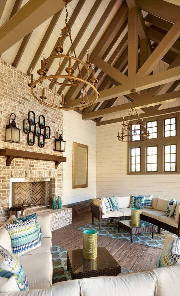 50 Traditional Family Room Designs and Ideas