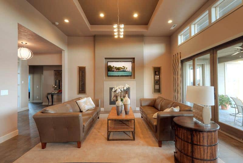 . 30  Living Rooms with Earth Tones