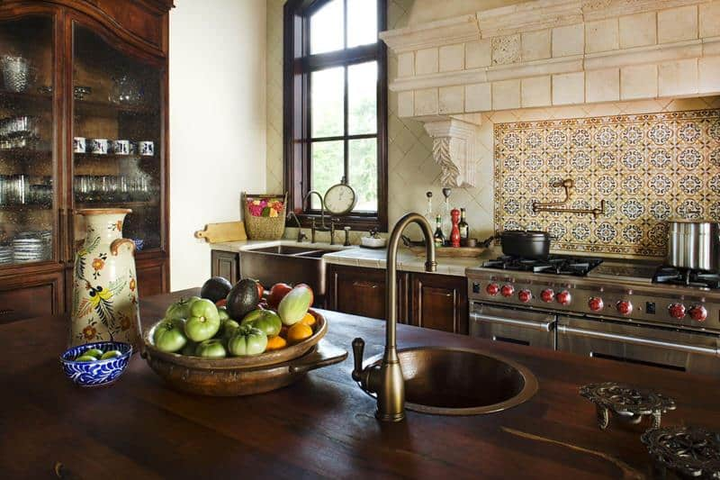 Beautiful Spanish Backsplash