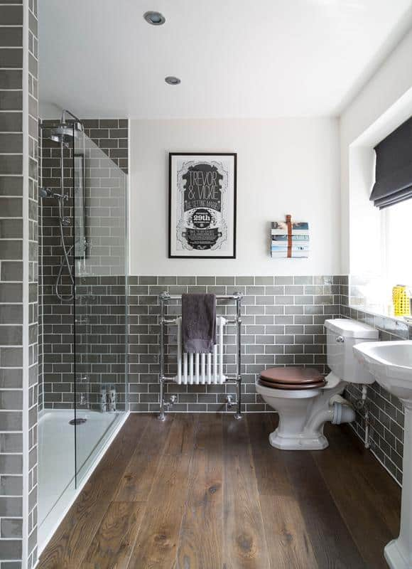 Gray Subway Tile
