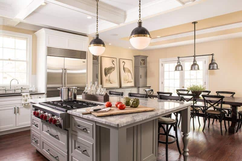 Kitchen Islands With Cooktops
