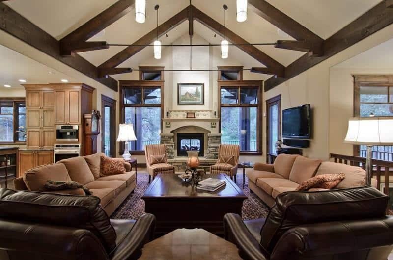 living room earth tones