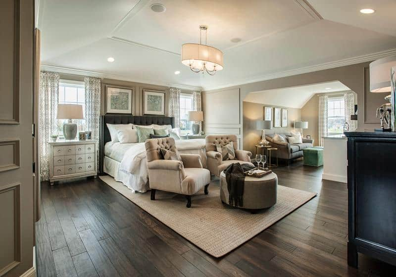 40+ Master Bedrooms with Hardwood Floors