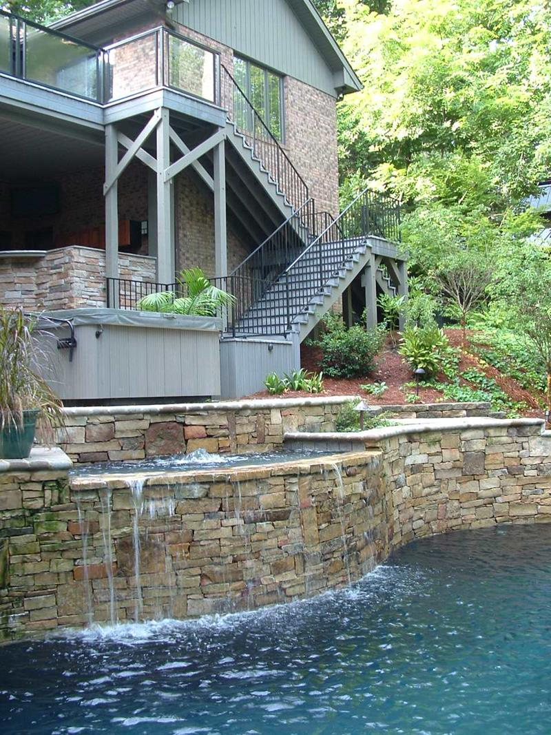Stacked Stone Design