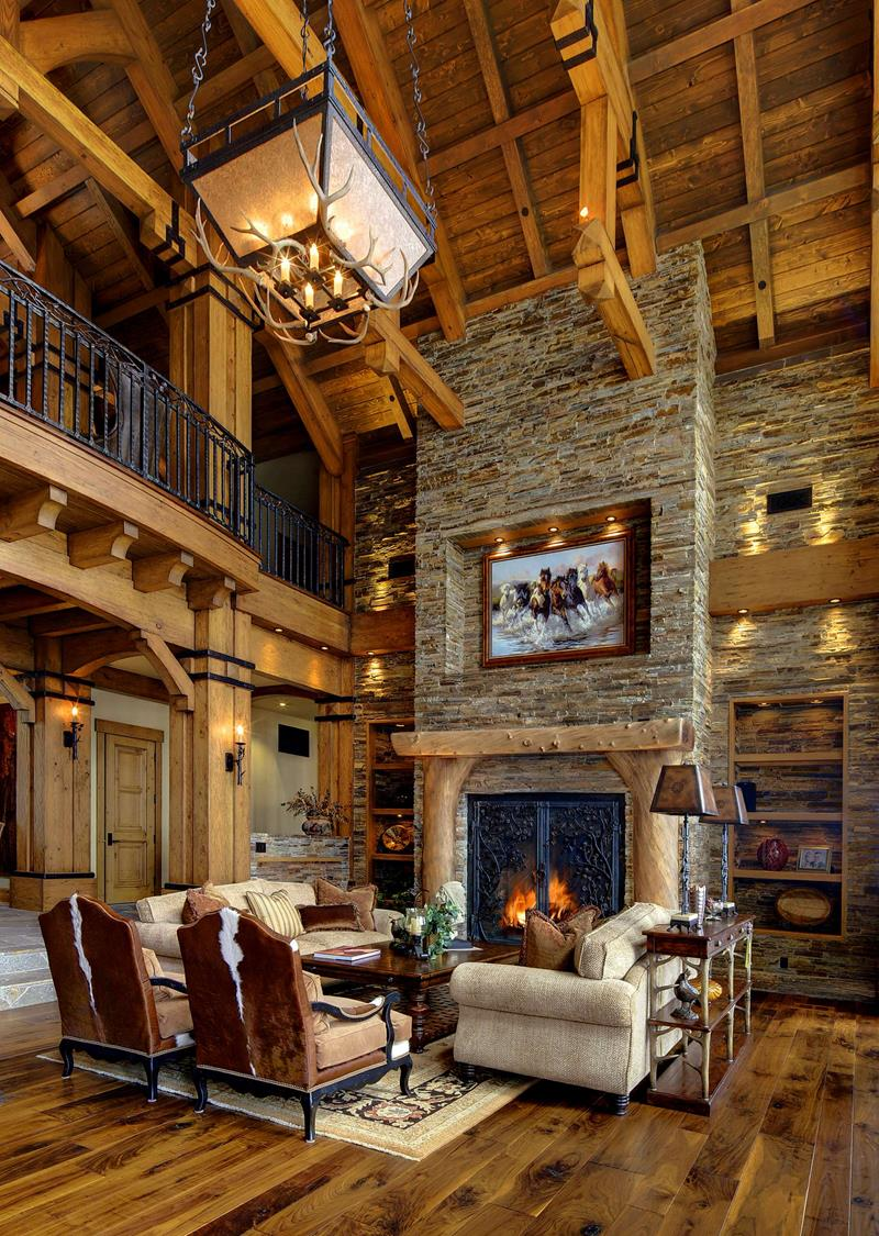 Upscale Cabin Style