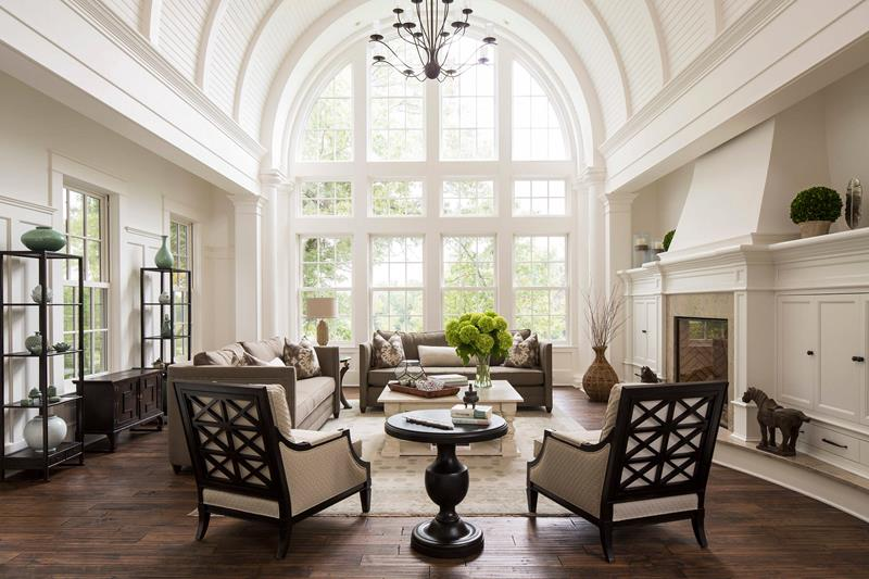 25 Living Rooms With Dark Wood Floors For 2019