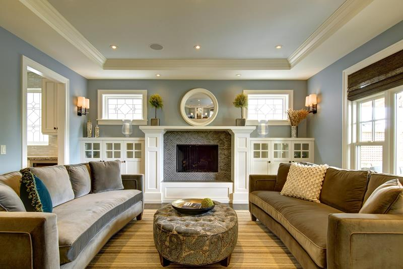 Great Columned Fireplace