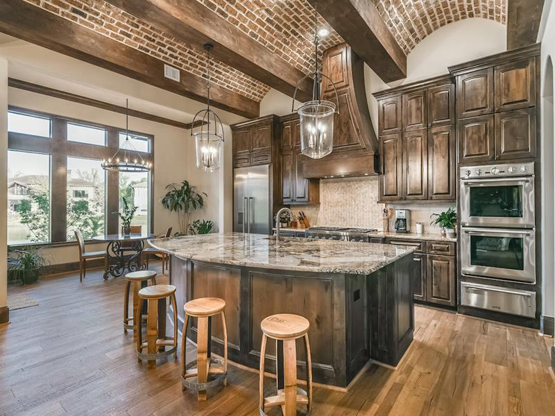 Brick and Hardwood Blend