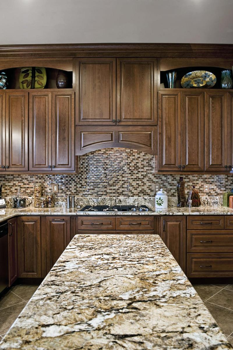 Backsplash and Counter Match