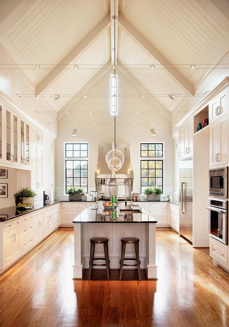 Cathedral Style Kitchen