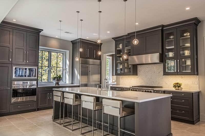 45 Kitchens With Dark Or Black Cabinets Home Awakening