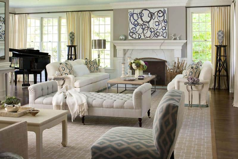 25+ Elegant Living Room Design Ideas for 2019