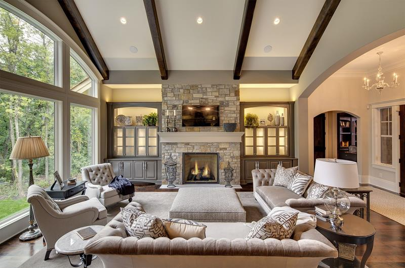 25 Beautiful Living Rooms With Fireplaces Photo Gallery Home Awakening