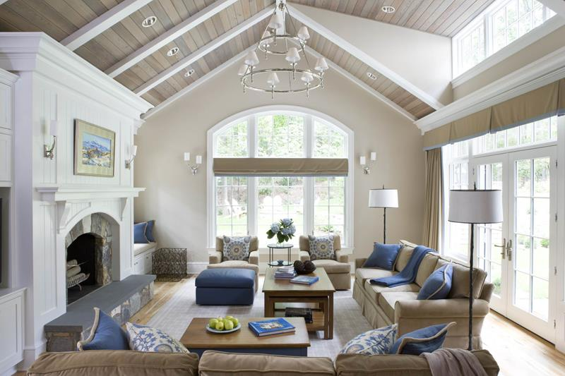 Vaulted Ceiling and Lights