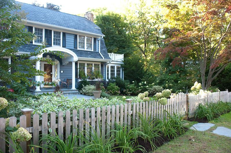 Charming Picket Fence