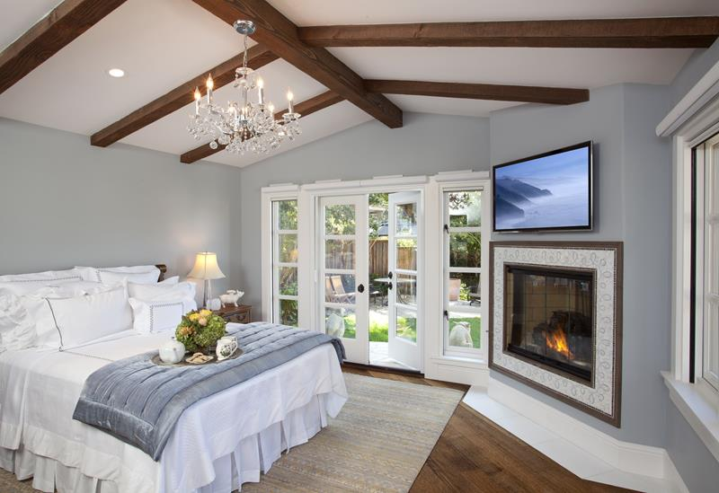 30+ Master Bedrooms with French Doors (Photo Gallery) - Home ...