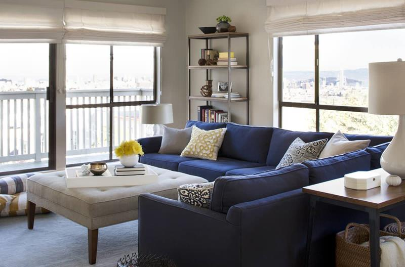 Blue Sectional Wonder