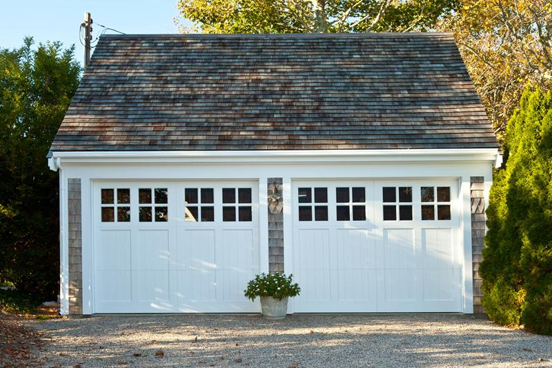 Traditional Double Garage