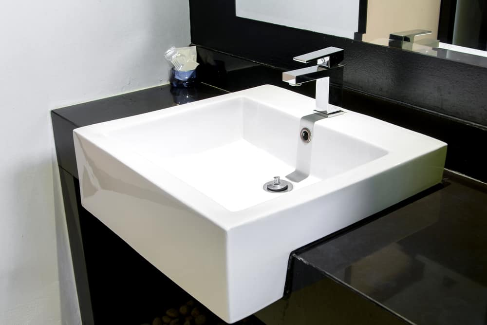 types of bathroom sinks