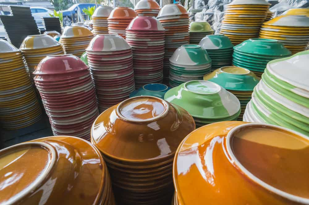 types of dishware