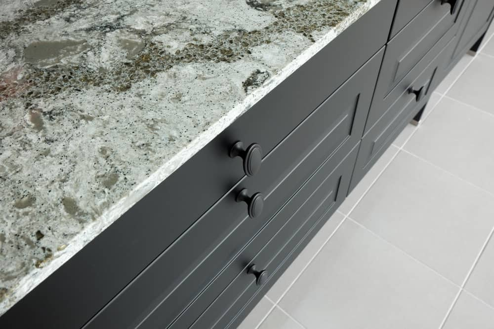 kitchen cabinet and drawers