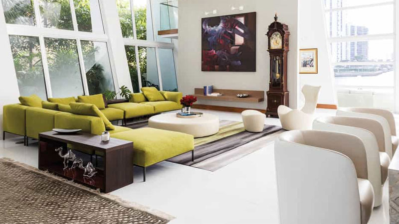 bold style living room ideas