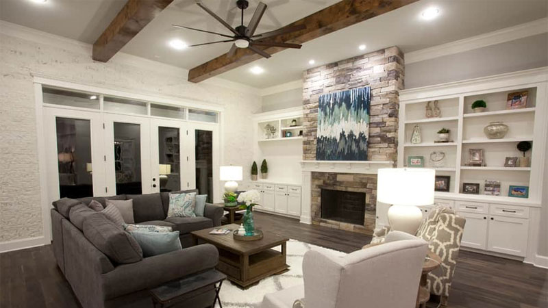 craftsman style family room ideas