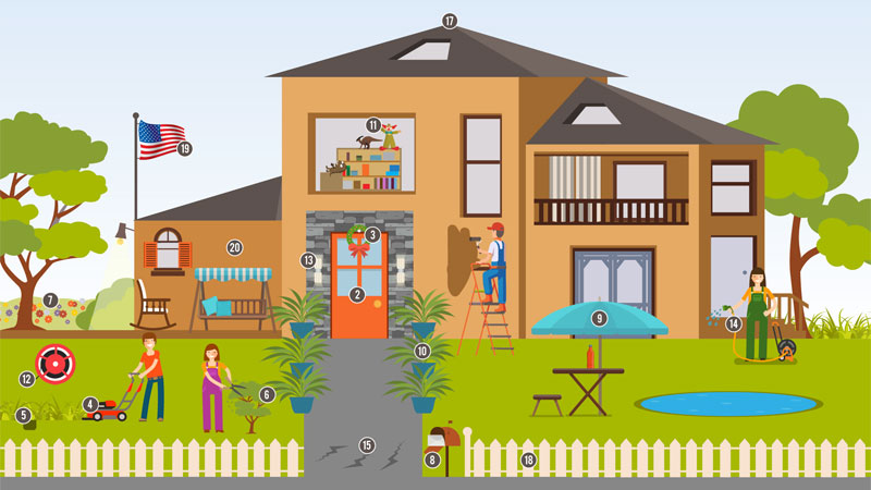 increase your home's curb appeal infographic