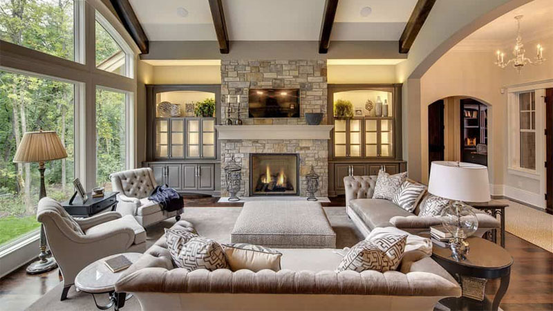 traditional family room design ideas